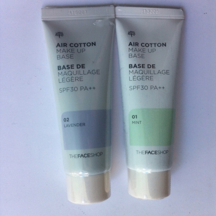 Air Cotton Make Up Base