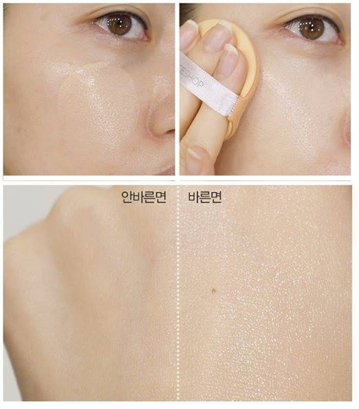 Review The Face Shop CUSHION SCREEN CELL