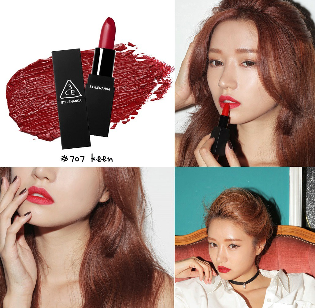 Son 3CE Dangerous Matte Lip Color #707 Keen