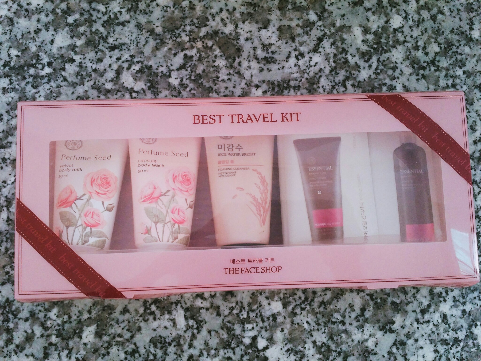 Bộ Mỹ Phẩm Du Lịch - Best Travel Kit The Face Shop