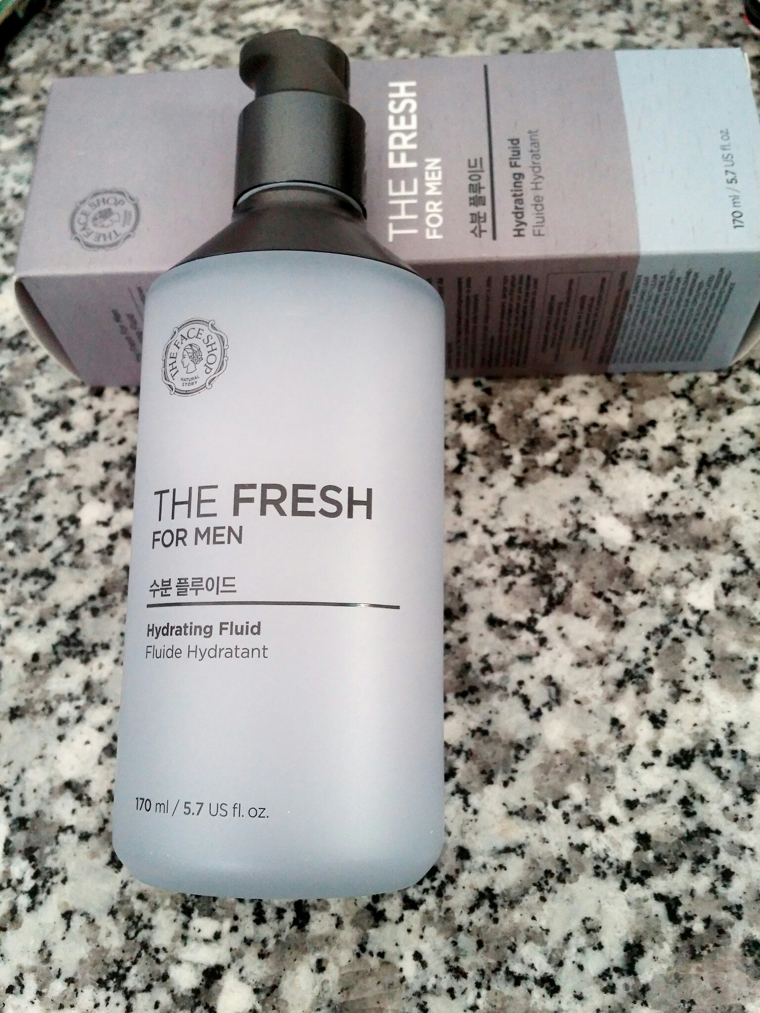 Sữa dưỡng Cho Nam The Face Shop The Fresh For Men Hydrating Fluid