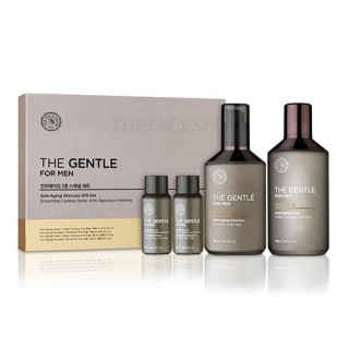 Bộ Dưỡng dành cho nam The Gentle For Men Anti Aging Skincare Gift Set