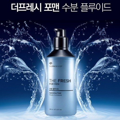 Dưỡng Cho Nam The Face Shop The Fresh For Men Hydrating Fluid