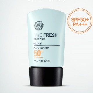 Kem chống nắng cho nam The Fresh For Men Sports Sun Cream SPF50+ The Face Shop