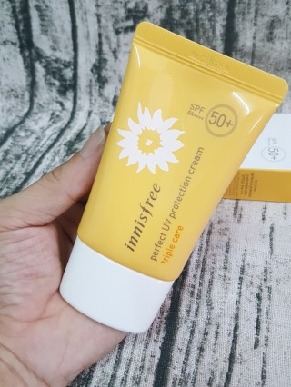 Kem Chống Nắng Perfect uv protection cream triple care SPF50+