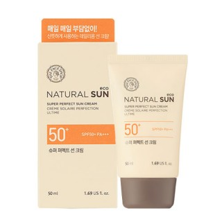 Kem Chống Nắng The Face Shop Natural Sun Eco Super Perfect Sun Cream SPF50 PA+++