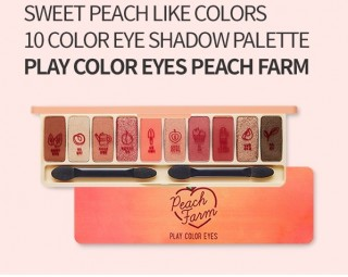 Phấn Mắt 10 Màu Play Color Eyes #Peach Farm