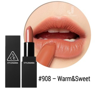 SON 3CE MATTE LIP COLOR #908 Warm & Sweet