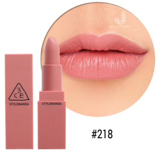Son 3CE MOOD RECIPE MATTE LIP COLOR #218 Mirrorlike (hồng nude)
