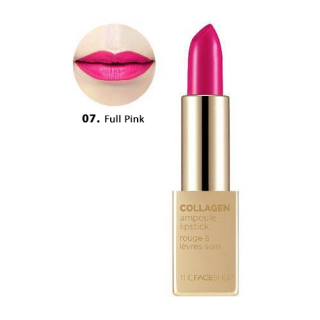 Son Thỏi Collagen Ampoule Lipstick The Face Shop #07 Full Pink