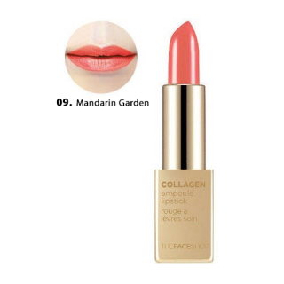 Son Thỏi Collagen Ampoule Lipstick The Face Shop #09 Mandarin Garden