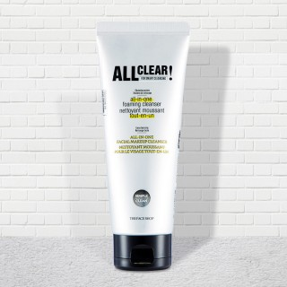 Sữa Rửa Mặt Đa Công Dụng ALL CLEAR All-in-one Foaming Cleanser