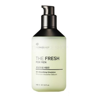 Sữa dưỡng kiểm soát nhờn The Fresh For Men Oil Absorbing Emulsion