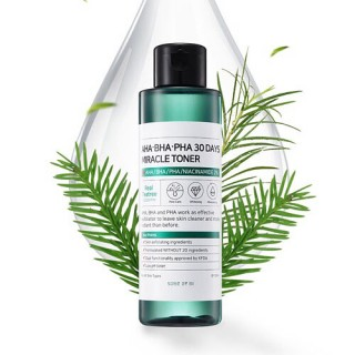 Toner trị mụn Some By Mi AHA BHA PHA 30 Days Miracle